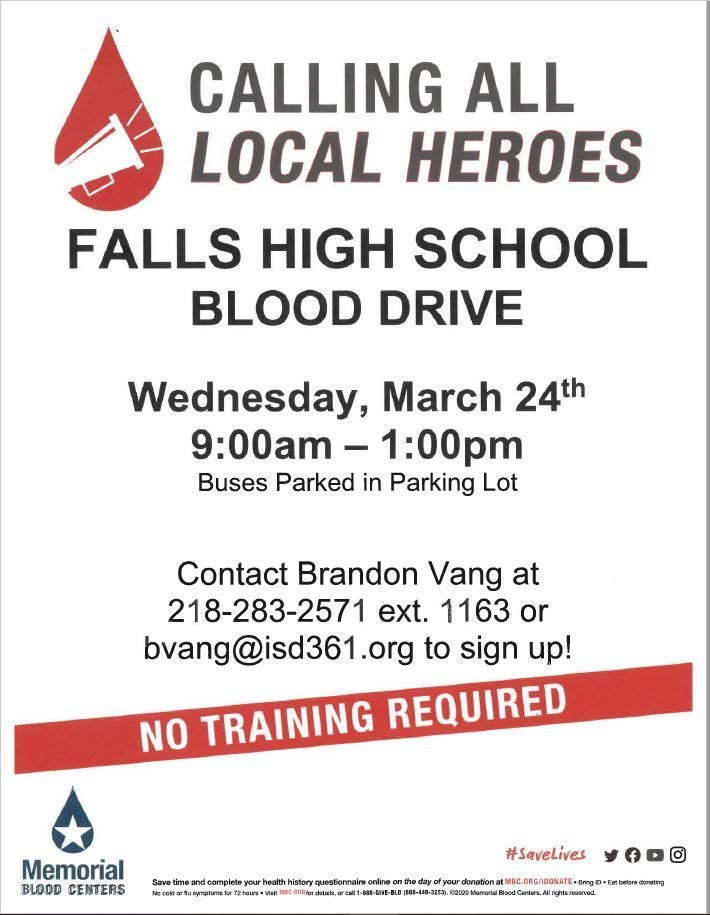 FHS Blood Drive