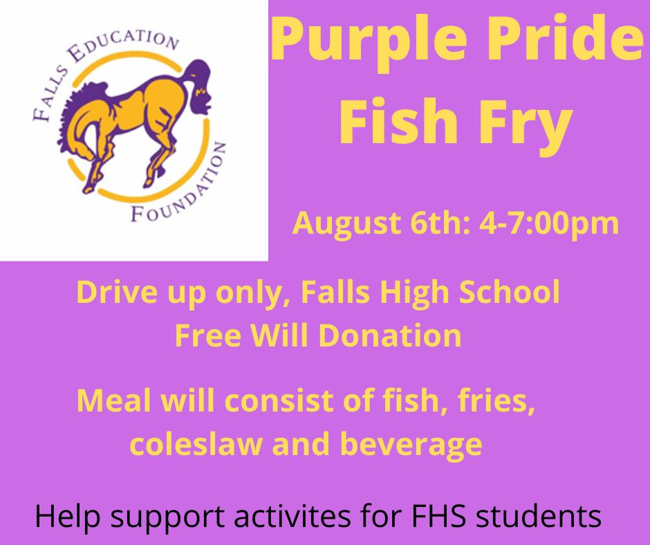 FEF/Purple Pride Fish Fry