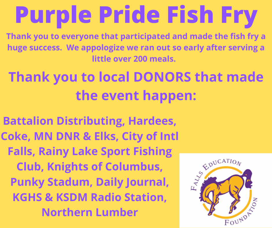 Purple Pride Thank You